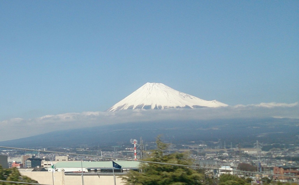 新幹線富士山15.03.17